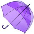 Fulton Birdcage Lavender Ladies Long Dome Umbrella