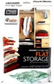Packmate VacuSac 2 Piece Jumbo Flat Vacuum Storage Bags 2 x Jumbo