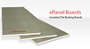 Elements ePanel Boards Insulated Tile Backing Boards for use with the Elements Range