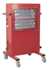 Provic Ecor Pro Big Rad 3kw 230v Infrared Quartz Working Area Heater with Gold Halide Lights