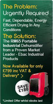 Industrial Dehumidifier RM65 Portable