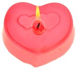 Bodytreats Heart Shaped Candle - Pack of 6