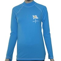 AQUA LONG SLEEVE SWIM SHIRT