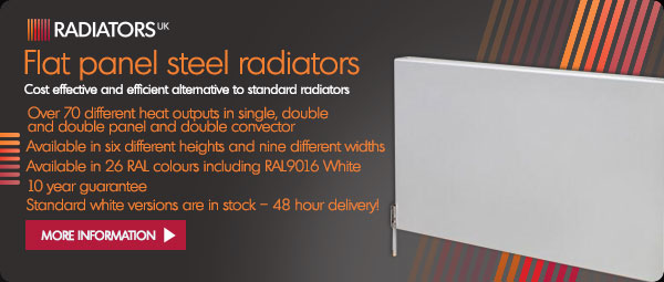 Cheshire Radiators - Flat panel steel radiators