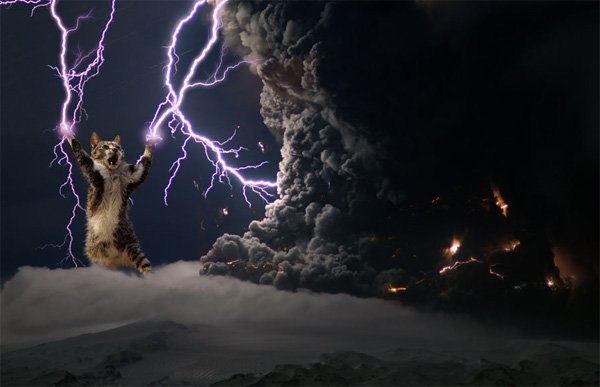 If Thor had fur...