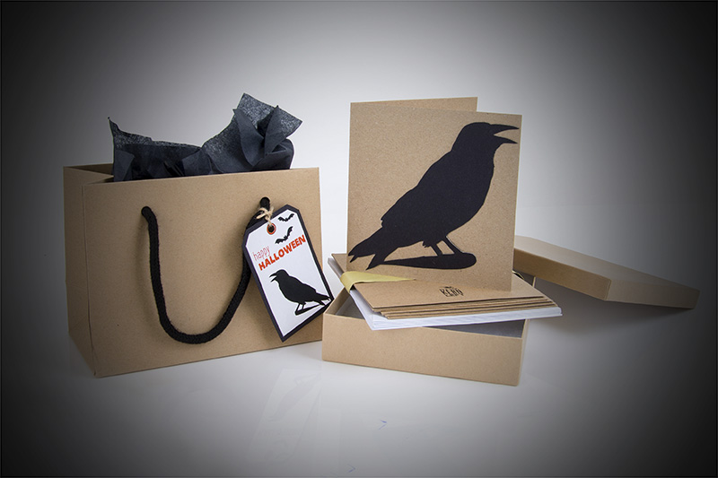 Tiny Box Hallowe'en Packaging