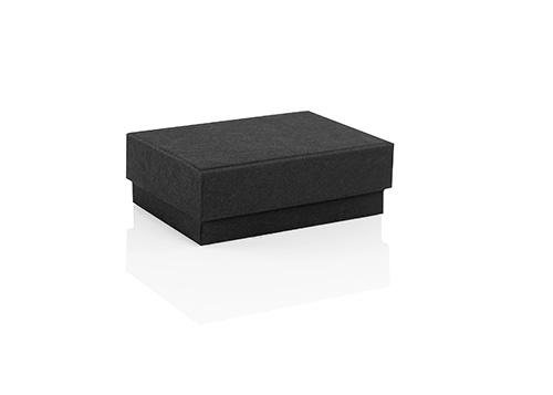 black jewellery box, recycled Black earring box