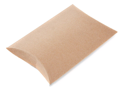 Pillow Boxes, Kraft Pillow Box