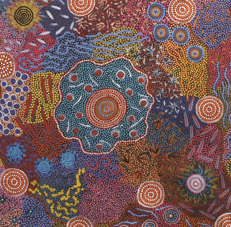 Behind The Dots Of Aboriginal Art