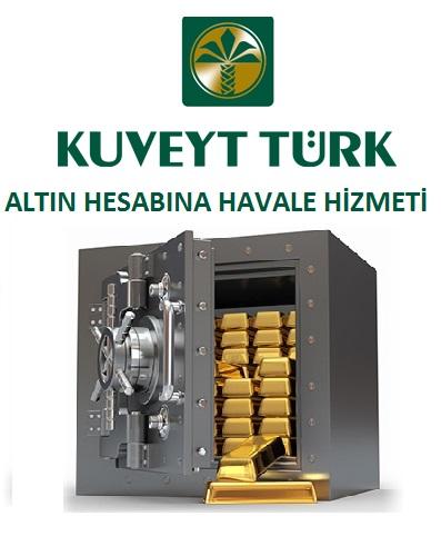 Kuveyt Turk Altın hesabı