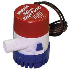 Rule 360 bilge pump used for backup in Aquaponics