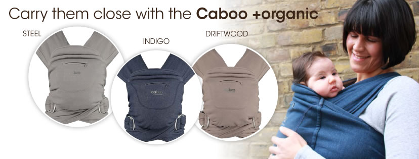 Caboo Baby Carrier by close - New Colours