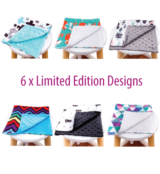 Minky Burp Cloths