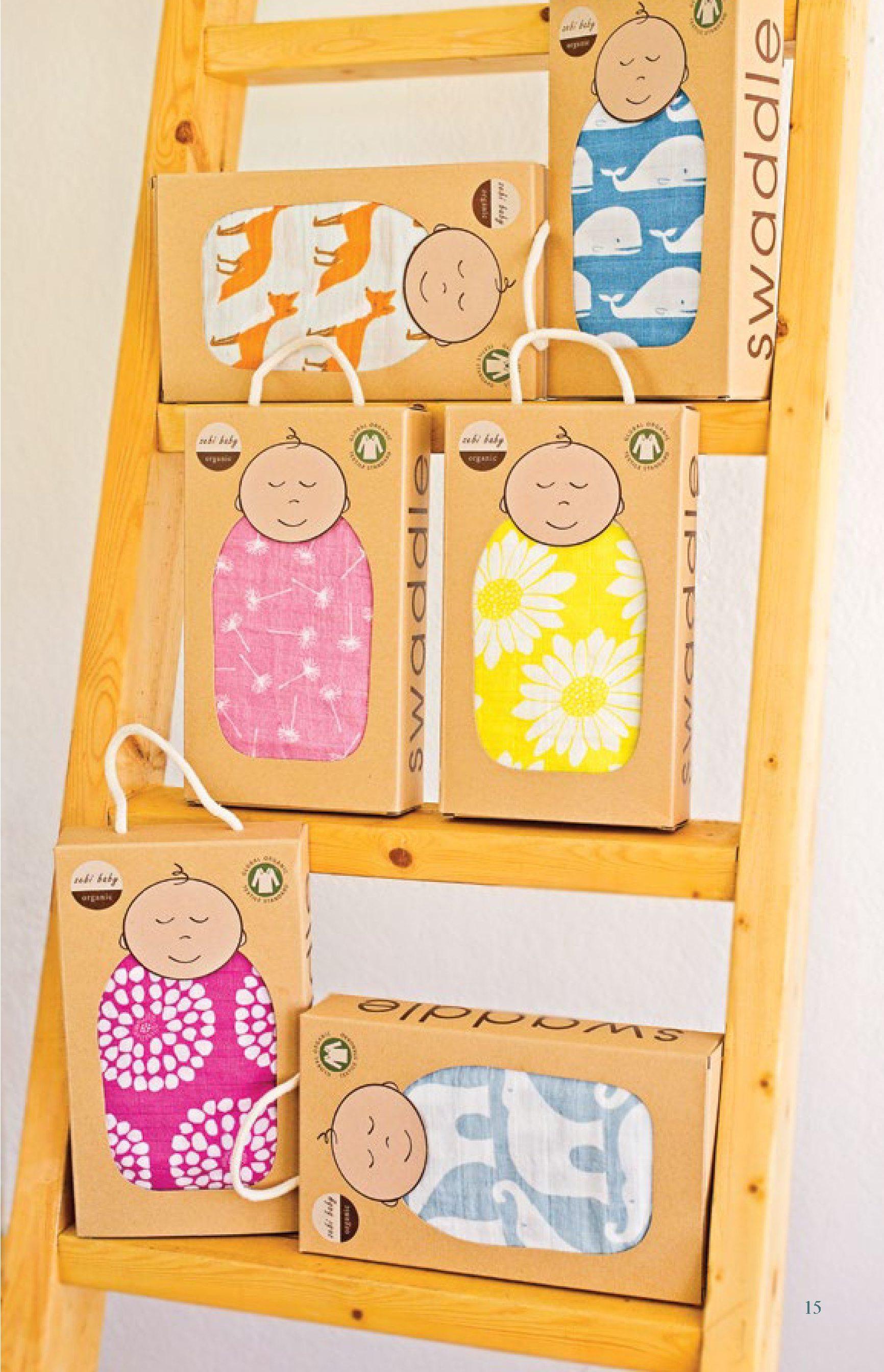Organic Muslin Swaddles by Milkbarn (Zebi Baby) Baby ...