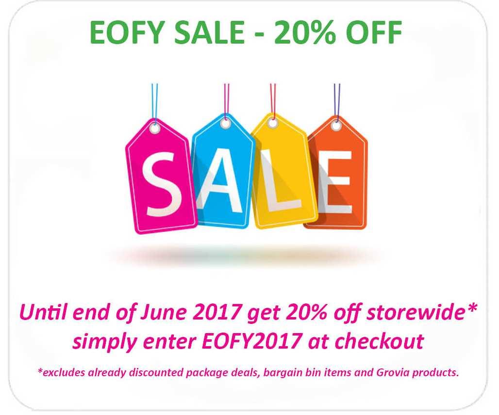 EOFY Sale June 2017