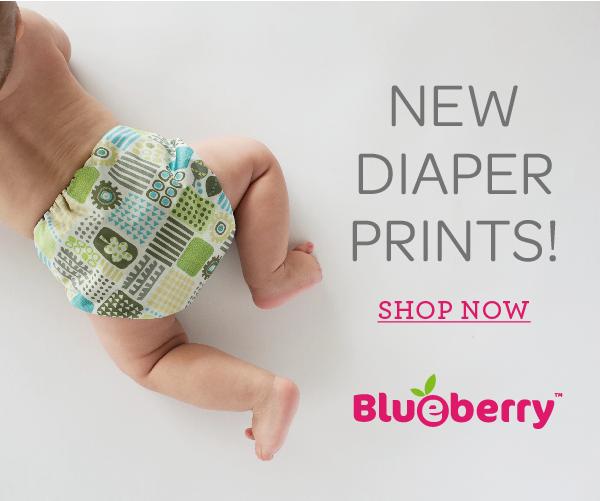 New Blueberry Nappy Prints at Baby Blossom Australia