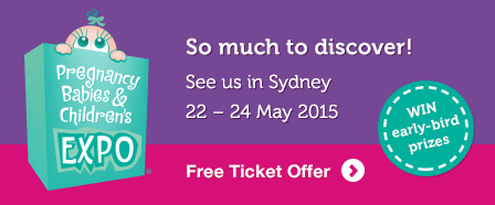 Sydney Pregnancy Babies Expo Ticket Offer