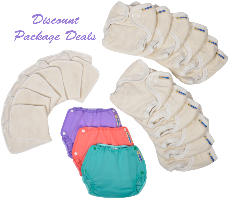 Save with Package Deals on Cloth Nappies