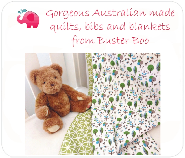 Buster Boo Designs at Baby Blossom Australia