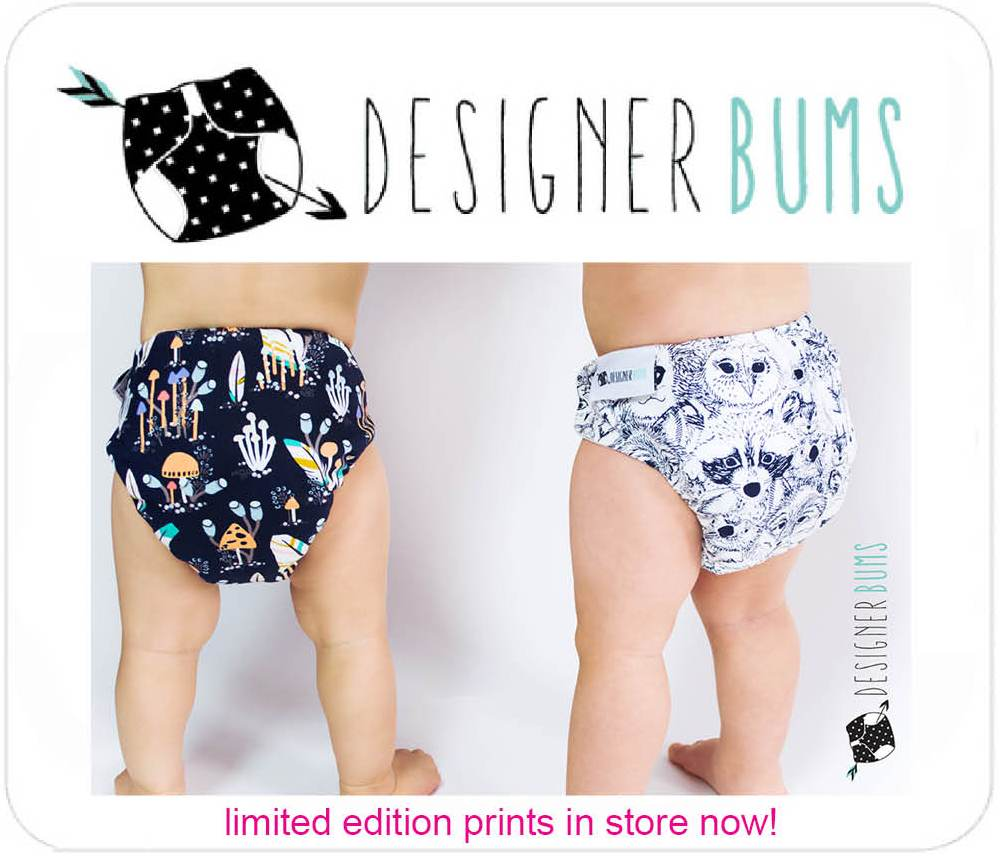 Designer Bum Cloth Nappies