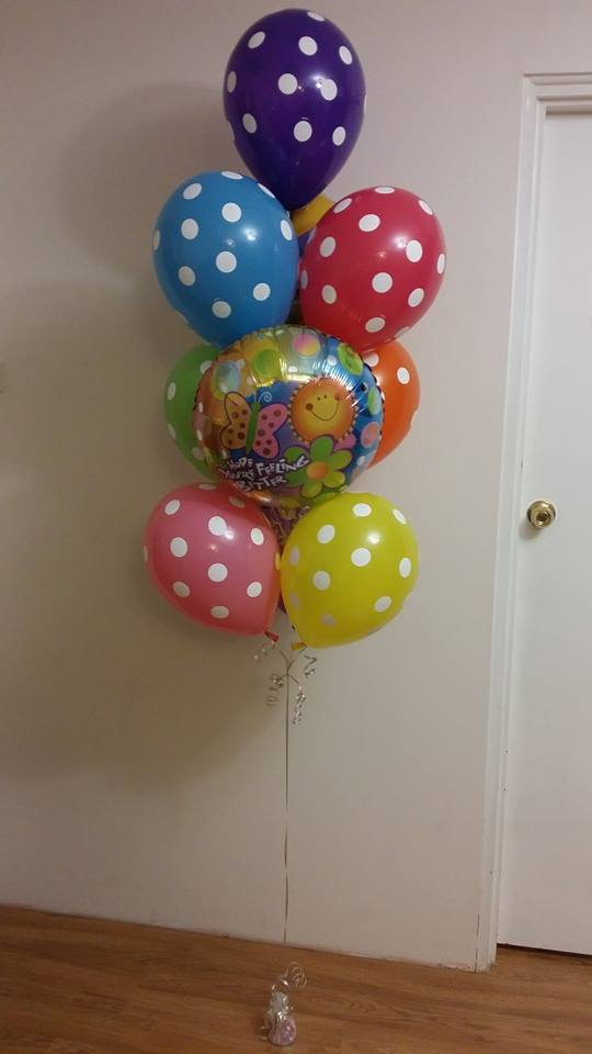'Get Well Spots Balloon Bouquet