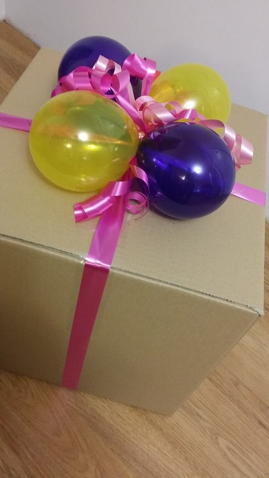 Bright Get Well Balloon In A Box