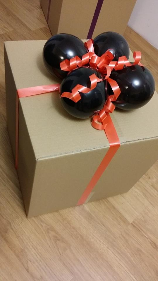 Halloween Balloon In A Box