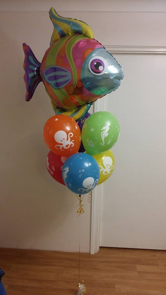 Fantastic Fishy Balloon Bouquet