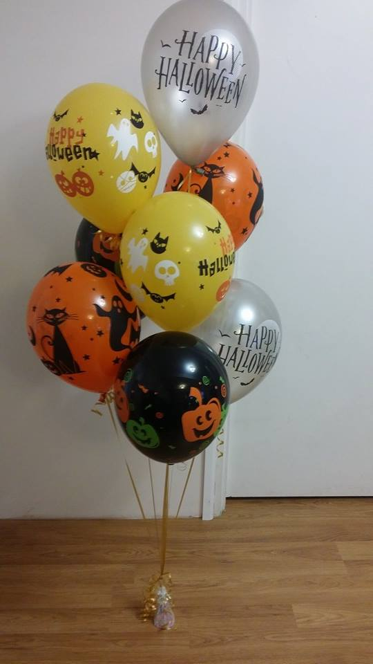 Halloween Latex Balloon Bouquet