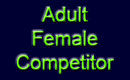 Adult Female Competitor