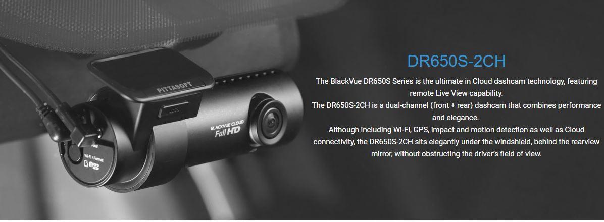 Blackvue DR650S-2CH Best Australian Price