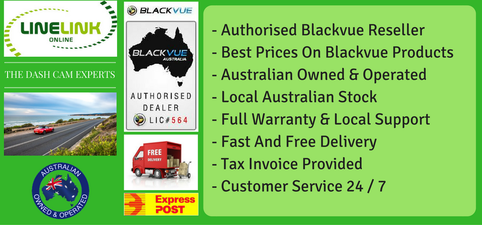 Best Prices On Blackvue Dash Cameras In Australia - Linelink Online