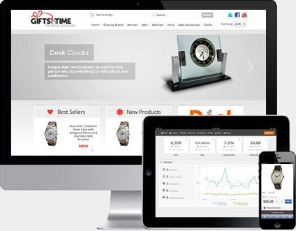 Ecommerce software for creating beautful online stores.
