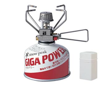 Snow Peak Gigapower Auto Stove