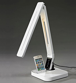LED Table Lamp with iPhone charger