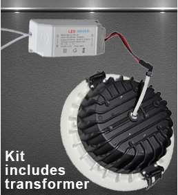 downlight kit includes transformer