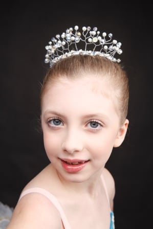 Dance Tiara Headpiece - Crown Pearl Garden