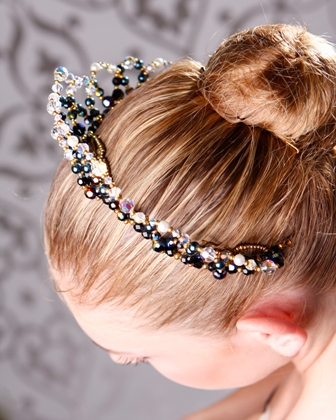 Ballet Tiaras Dance Crown Headpiece - Giselle
