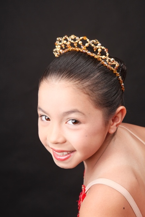 Lil'Giselle Swarovski Crystal and Pearl Crown