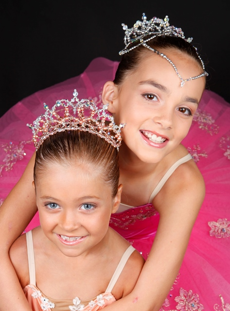 Ballet Tiara Dance Headpiece Crown - Lil'Helena