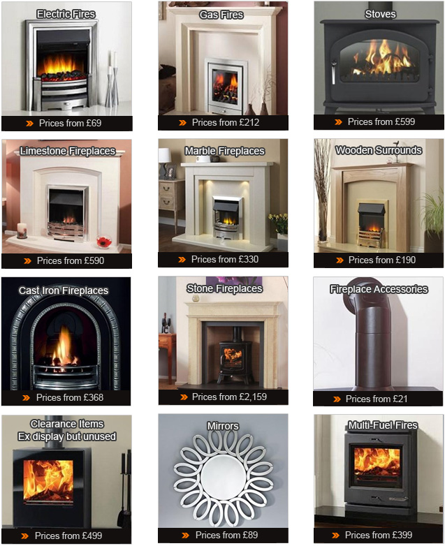 Fireplace Categories