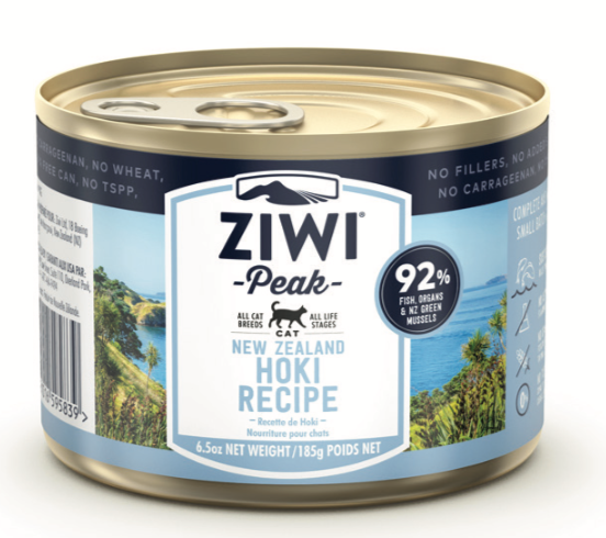 New ZiwiPeak Hoki Fish can for cats