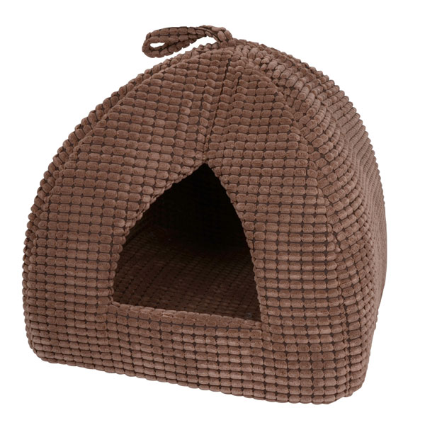 Plush Igloo pet bed for cats, kittens or small dogs or puppies