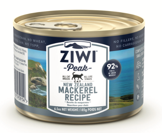ZIWI Peak Mackerel can for cats