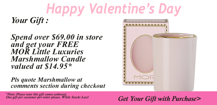 Valentine's Day 2015 mor candle
