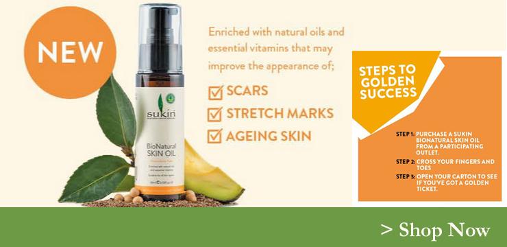 sukin bionatural oil