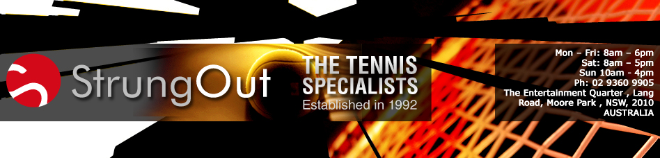 Strung Out - Your tennis specialists