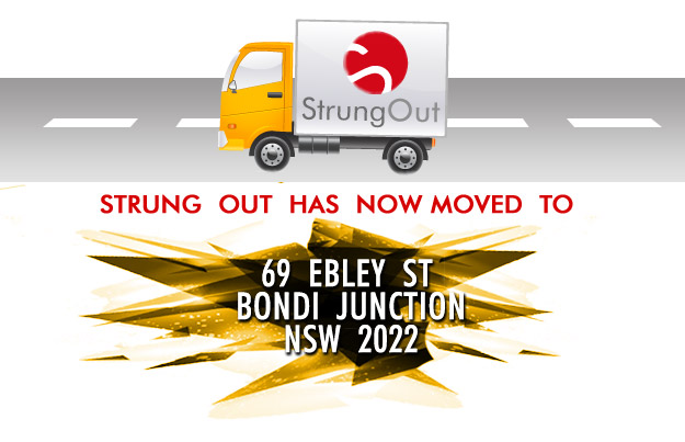 Strung Out has moved to 69 Ebley St, Bondi Junction, 2022