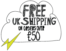 Free UK Shipping on orders over £50 cloud