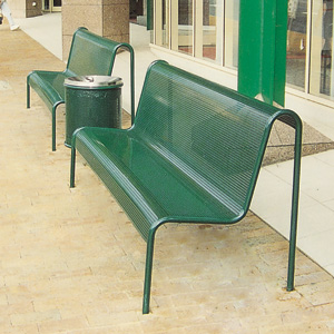 S103 Perforated Metal Seat